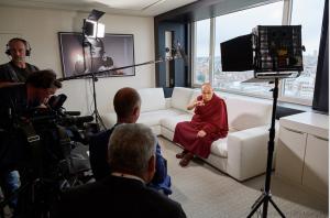 Der Dalai Lama in Brüssel 2016 © Olivier Adam